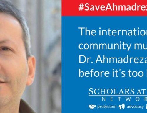 La communauté internationale doit sauver le Dr Ahmadreza Djalali avant qu'il ne soit trop tard
