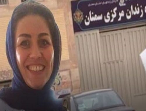 La prisonnière politique iranienne Maryam Akbari Monfared soutient le soulèvement du Khuzestan